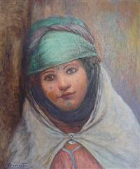 portrait de femme maure by louis granata
