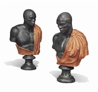 busts of blackamoors (pair) by anonymous (20)