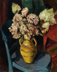 hydrangea in a vase by johan buning