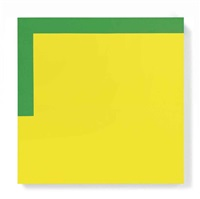 more yellow, less green by carmen herrera