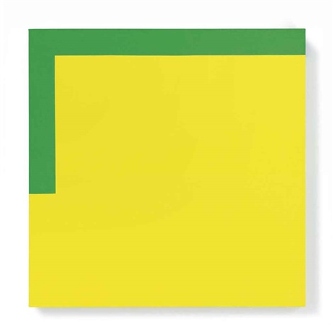more yellow less green by carmen herrera
