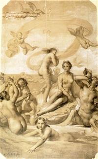 nascita di venere by francesco coghetti