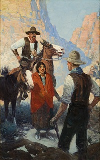surprise meeting by frank tenney johnson