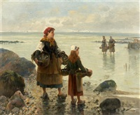 les pêcheuses by pierre testu