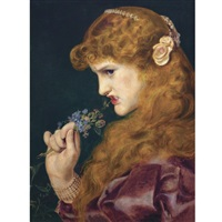 love's shadow by anthony frederick augustus sandys