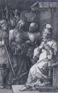 christ before caiaphas by albrecht dürer