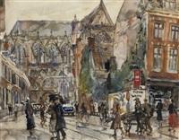 view of the servetstraat by erasmus bernhard van dulmen krumpelman