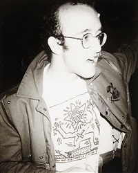 keith haring by andy warhol