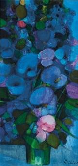 bouquet de fleurs by camille hilaire