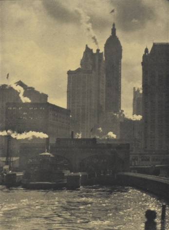 the hand of man and the city of ambition 2 works from camera work no 36 by alfred stieglitz