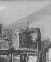 artist's studio by joseph k. chambers