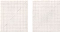 untitled (double bloodworks) (in 2 parts) by felix gonzalez-torres