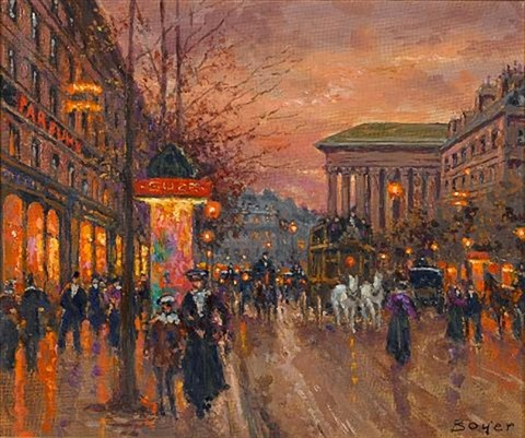 near the madeleine paris by emile boyer