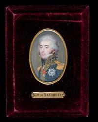 portrait du général etienne marie antoine champion, comte de nansouty (1768 - 1815) by jean urbain guerin