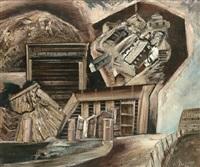 works area penghana (study) by jan senbergs
