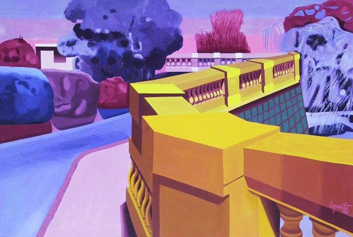La Terraza By Oscar Pedro Capristo On Artnet