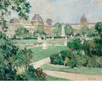 tuileries, paris by george oberteuffer