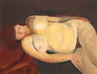 nud dormind by corneliu baba