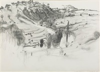the river at yass, new south wales by brett whiteley