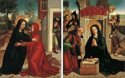 the visitation by juan correa de vivar