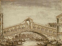 the rialto, venice by francesco zucchi the younger