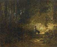 im walde (in the forest) by carl spitzweg