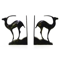 pair of sculptural bookends by chris agterberg