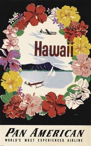 hawaiipan american poster by a amspoker