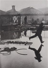 'derrière la gare saint-lazare', paris by henri cartier-bresson