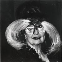 a woman in a bird mask, n.y.c. by diane arbus