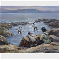 eskimo fishing by adam sherriff scott