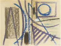 composition hh 32-86 by hans hartung