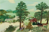 look ye there by grandma moses