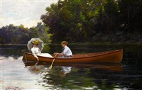 rowing to picnic rock by abbott fuller graves