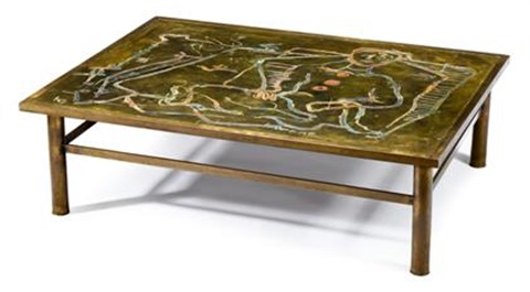 Coffee table by philip laverne on artnet for Coffee table 48 x 36