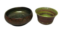 bowls (2 works) by pilkington