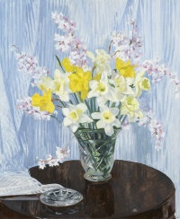still life of daffodils (study) by rose brigid ganly