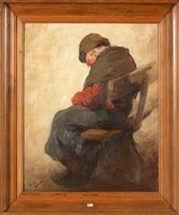 la sieste sur un banc by kurt peiser