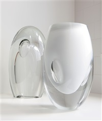 two sculptures from the claritas series by timo sarpaneva