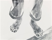 feet, tom murphy, san francisco, california (from amputations) by minor white