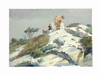 rough work by winslow homer