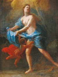 vénus et l'amour by francesco (cecco bravo) montelatici