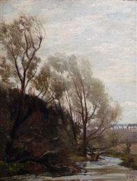 river landscape by robert noble