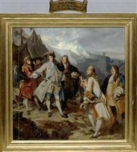 kurfürst max emanuel belagert die festung von carmagnola im piemont 1691 by severin benz