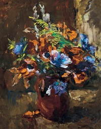 still-life with flowers by edmund pick-morino