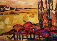 paysage fauve by homero