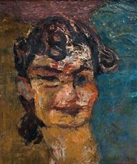 portret barbary gottlieb by henryk gotlib