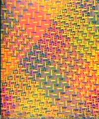 fluorescerende kvadrat- komposition by niels nedergård