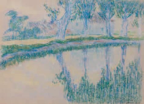 rivière de normandie by robert antoine pinchon