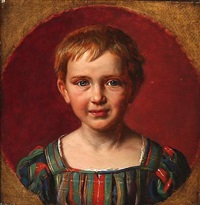 portrait of a young boy by ludwig august smith